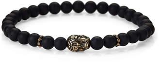 Jean Claude Onyx Stretch Bracelet