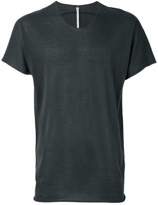 Label Under Construction zip seam T-shirt