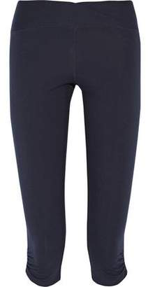 Yummie by Heather Thomson Candace Cropped Stretch-Cotton Leggings