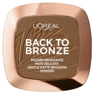 L'Oreal Back To Bronze Matte Bronzer - 02 Sunkiss