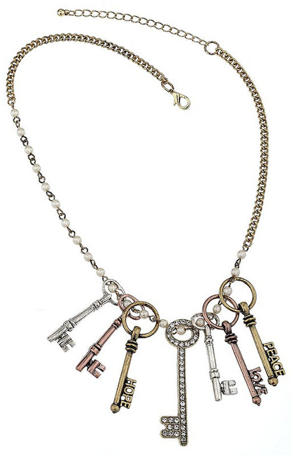 Multi Keys On Chain Necklace