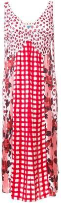 Marni (マルニ) - Marni ミックスプリント ドレス