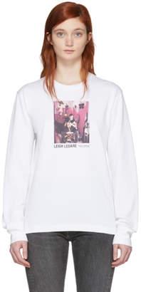 Helmut Lang White Leigh Ledare Edition Dream 2008 T-Shirt