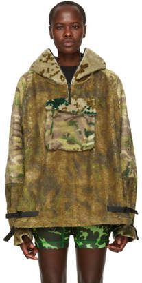1017 Alyx 9SM Multicolor Camo Polar Fleece Hernik Hoodie