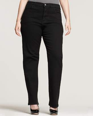 NYDJ Plus Marilyn Straight-Leg Jeans