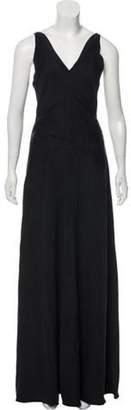 Balenciaga Sleeveless Maxi Dress Black Sleeveless Maxi Dress