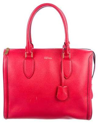 Alexander McQueen Leather Heroine Tote