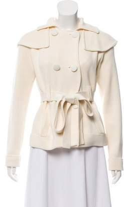 Sonia Rykiel Sonia by Double-Breasted Knit Jacket