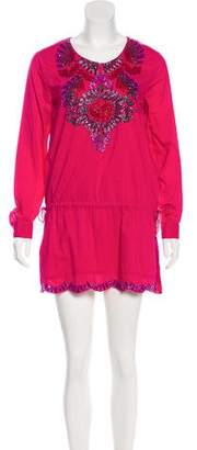 Antik Batik Embellished Mini Dress w/ Tags