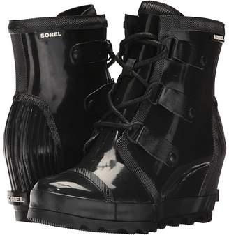 Sorel Joan Rain Wedge Gloss Women's Waterproof Boots