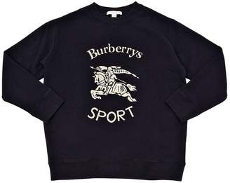 Burberry Printed Cotton Sweatshirt