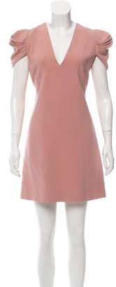 Miu Miu Short Sleeve Mini Dress