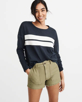 Abercrombie & Fitch Long-Sleeve Pocket Tee