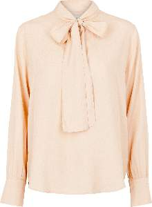 Second Female - Cameo Rose Limba V-Neck Top - S - Pink