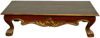 One Kings Lane Vintage Indonesian Hand-Carved Coffee Table - FEA Home