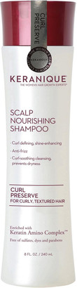 Keranique Curl Preserve Scalp Nourishing Shampoo For Curly, Textured Hair