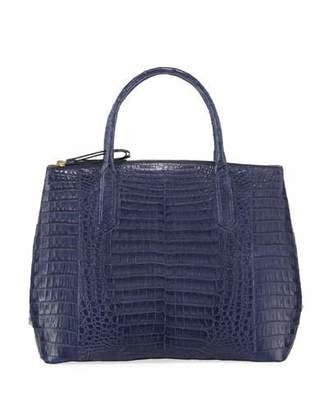 Nancy Gonzalez Nix Medium Crocodile Zip Tote Bag