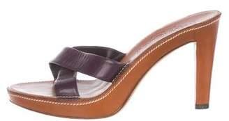 Saint Laurent Vintage Leather Sandals