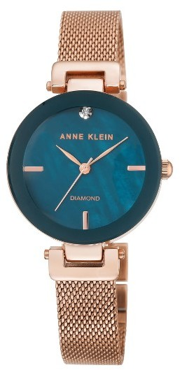Anne Klein Women's Anne Klein Mesh Strap Watch, 30Mm