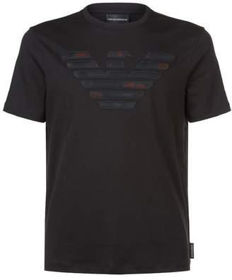 Emporio Armani Mesh Eagle Logo T-Shirt