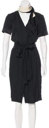 Sophie Theallet Button-Up Wrap Dress w/ Tags