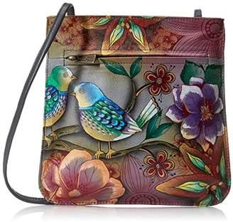 Anuschka Hand-Painted Leather BB Mini Cross-Body Bag $129 thestylecure.com
