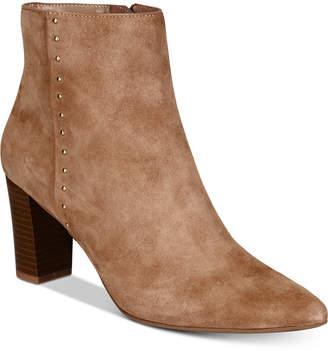 Bandolino Zoila Pointed-Toe Zip Booties Women's Shoes