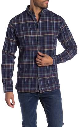 Knowledge Cotton Apparel Checkered Print Regular Fit Shirt