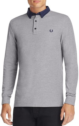 Fred Perry Oxford Collar Slim Fit Polo Shirt $130 thestylecure.com