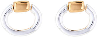 Lauren Ralph Lauren Two-Tone Mini Door Knocker Earrings