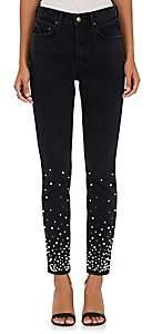 GRLFRND Women's Karolina Embellished Skinny Jeans - Black