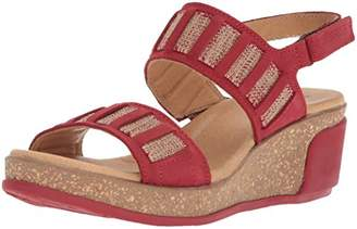 El Naturalista Women's N5006 Pleasant /Leaves Wedge Sandal