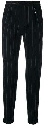 Manuel Ritz chalk stripe trousers