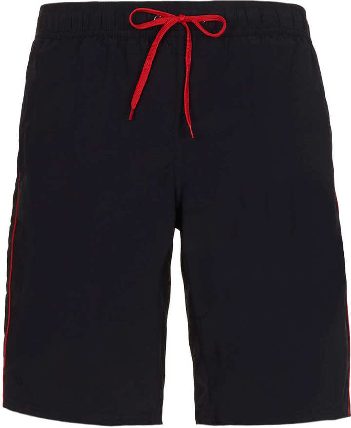 Topman Navy Swim Boardshorts