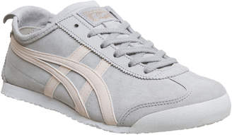 a5d47e11c50f Onitsuka Tiger by Asics Mexico 66 Trainers Grey Pink Suede Exclusive