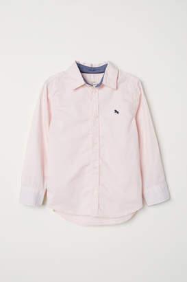 H&M Cotton Shirt - Pink