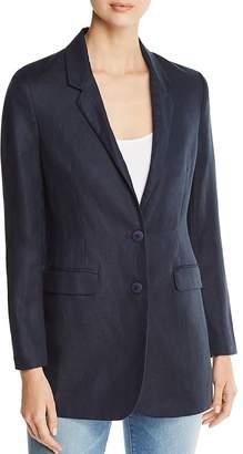 Donna Karan Linen & Cotton Blazer