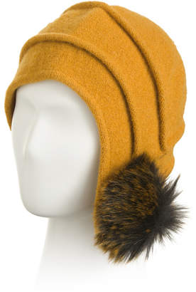 Made In Italy Wool Blend Beanie