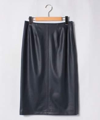 ネミカオリジナル フェイクレザータイトスカート