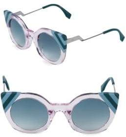 Fendi 47MM Butterfly Sunglasses
