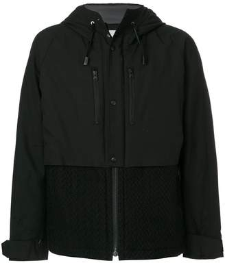 White Mountaineering zipped windstopper jacket