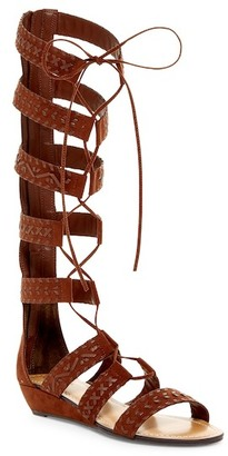 Carlos By Carlos Santana Kingston Wedge Gladiator Sandal $110 thestylecure.com