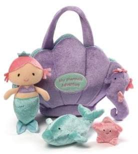 Gund Plush Mermaid Adventure Playset