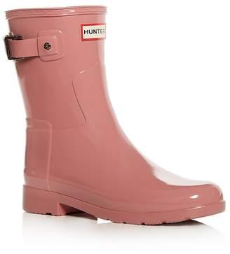 Hunter Women's Original Refined Short Gloss Rain Boots