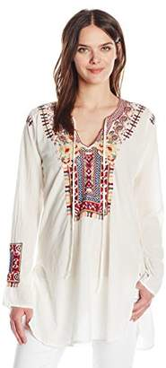Johnny Was Biya by Women's Cossima Cotton Blouse