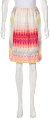 Missoni Patterned Knee-Length Skirt