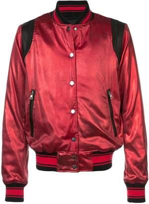 Amiri silk varsity jacket