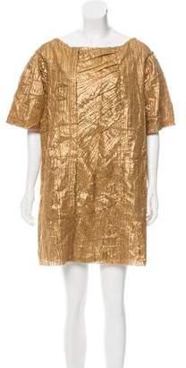 Prada Textured Mini Dress