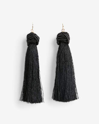 Express Knotted Tassel Earrings
