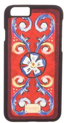 Dolce & Gabbana Floral iPhone 6 Case Black Floral iPhone 6 Case